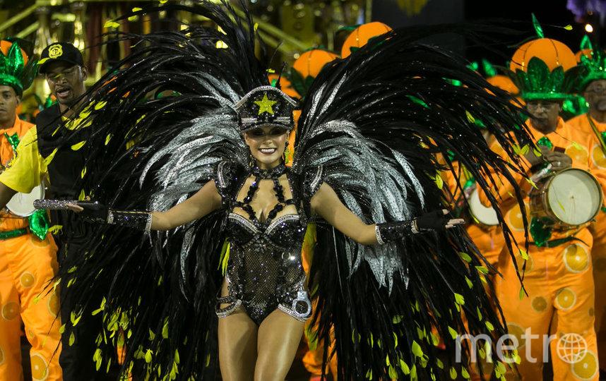 Карнавал в Рио-де-Жанейро. Фото. Фото Getty