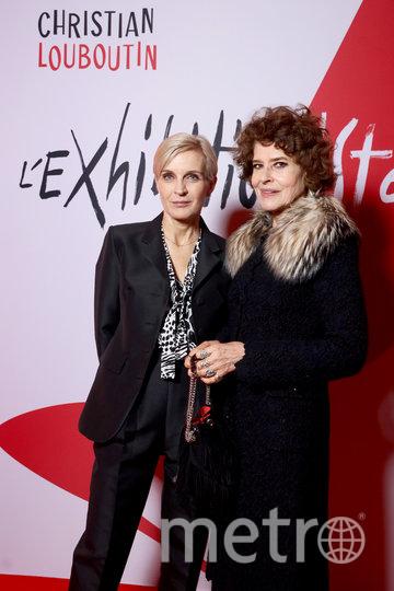 Мелита Тоскан дю Плантье и Фанни Ардан. Фото Getty
