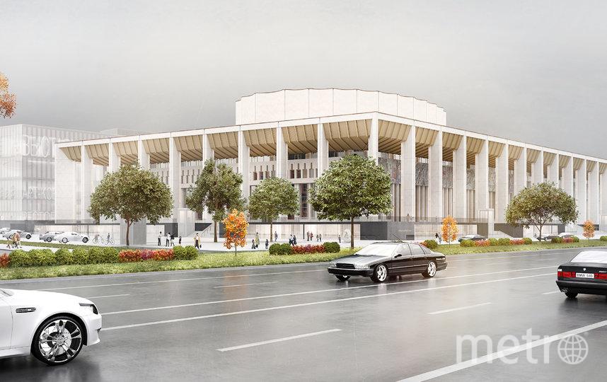 "Проект. Фото бюро WALL, предоставлено Москомархитектурой, ""Metro"""