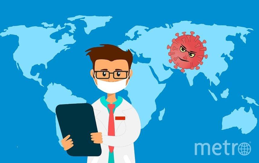 """Вирус начал распространяться из Китая. Фото https://pixabay.com, """"Metro"""""""