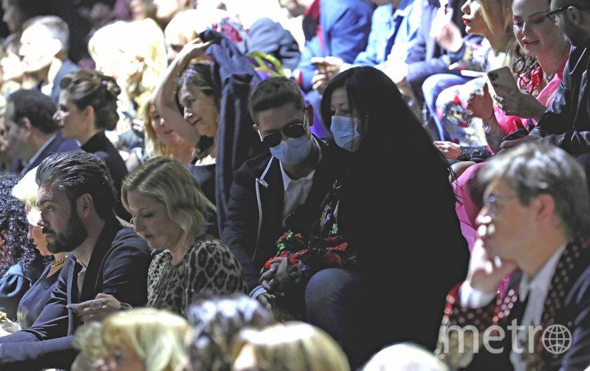 Гости показа Dolce & Gabbana в Милане. Фото Getty