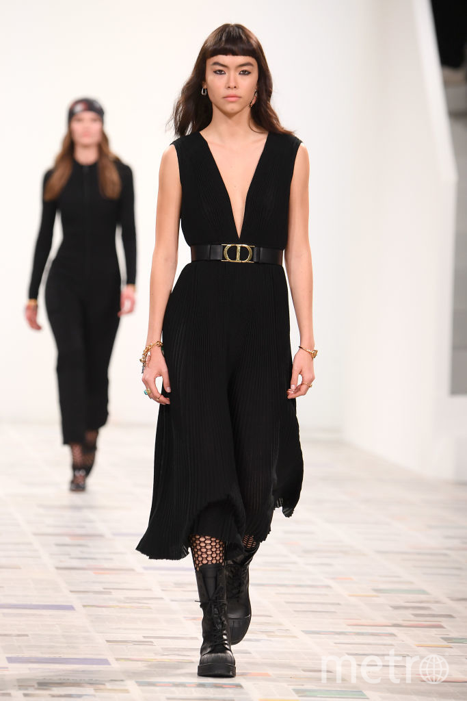 Шоу Dior в Париже на неделе моды. Фото Getty