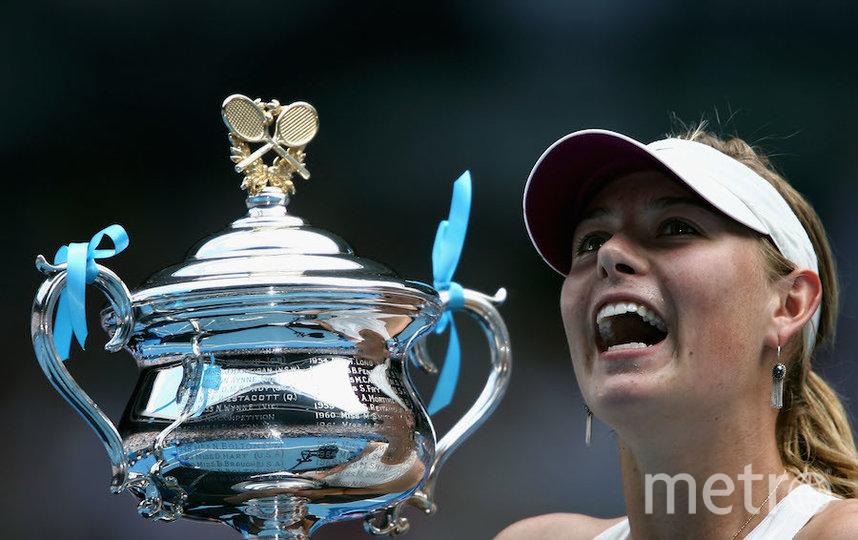 Победа на Australian Open. Фото Getty