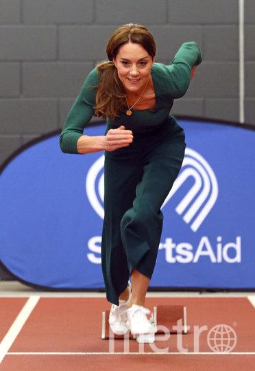 Кейт Миддлтон на мероприятии SportsAid 26 февраля. Фото Getty