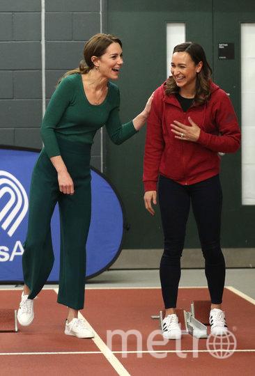 Кейт Миддлтон с Джессикой Эннис-Хилл. Фото Getty