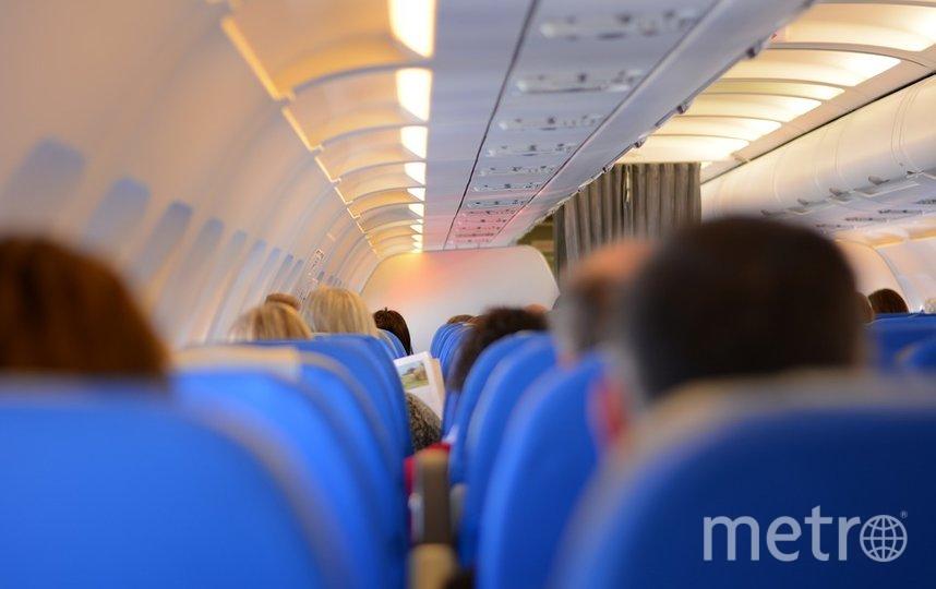 """Конфликт произошел на борту самолета, летевшего из Милана. Фото pixabay.com, """"Metro"""""""
