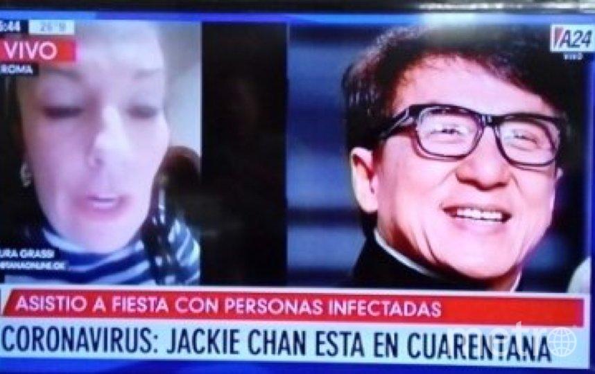 """Сообщения о том, что Джеки Чан в карантине с подозрением на коронавирус, появились в СМИ. Фото """"Metro"""""""