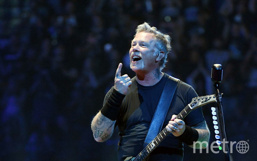 Фронтмен группы Metallica Джеймс Хэтфилд. Фото Getty