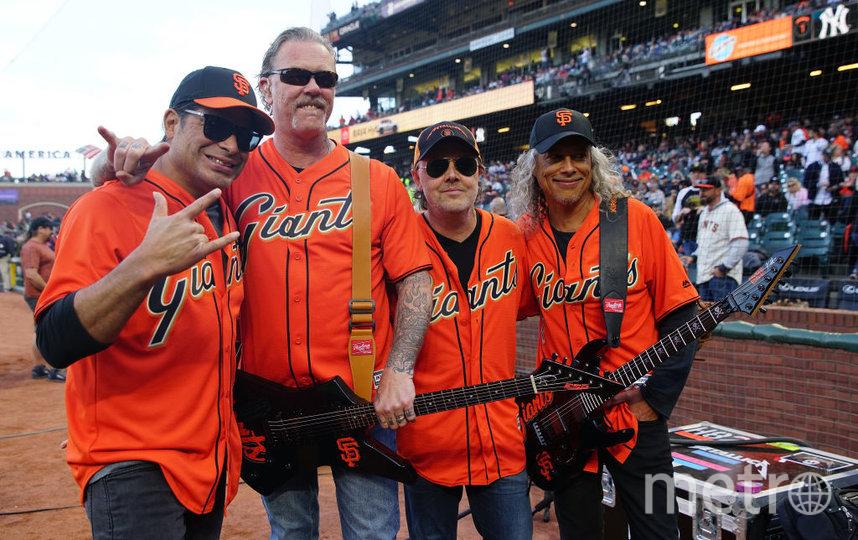 Американская рок-группа Metallica. Фото Getty