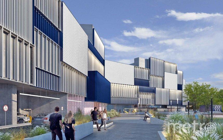 """Так ТЦ будет выглядеть после реконструкции, проект. Фото Форт Групп Девелопмент, предоставлено Москомархитектурой, """"Metro"""""""