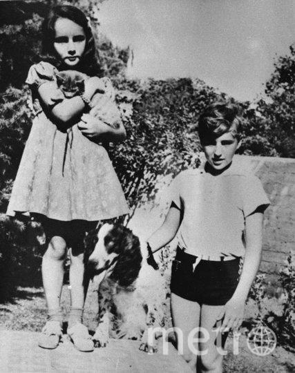 Элизабет Тейлор в детстве. Фото Getty