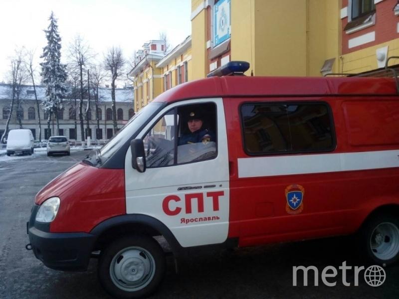 Прапорщик Валерий Кузнецов. Фото 76.mchs.gov.ru