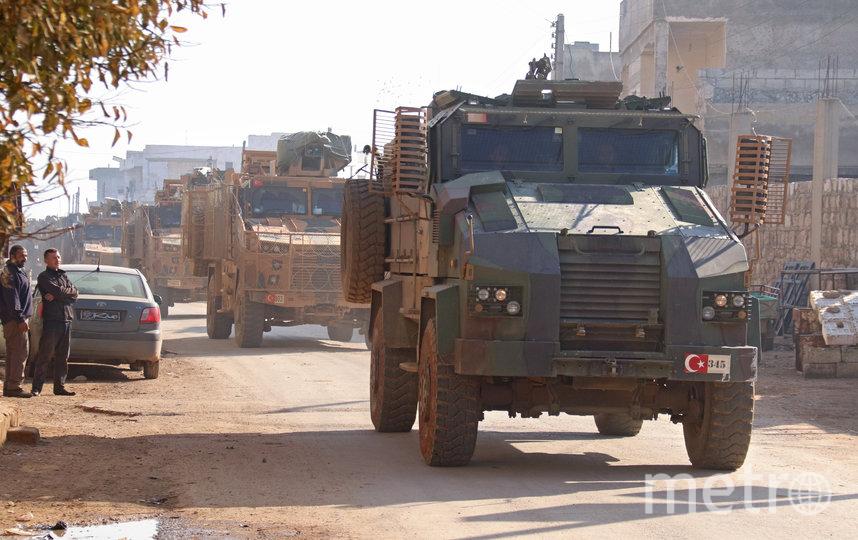 В Минобороны РФ рассказали подробности инцидента с турецкими военными в Идлибе. Фото AFP