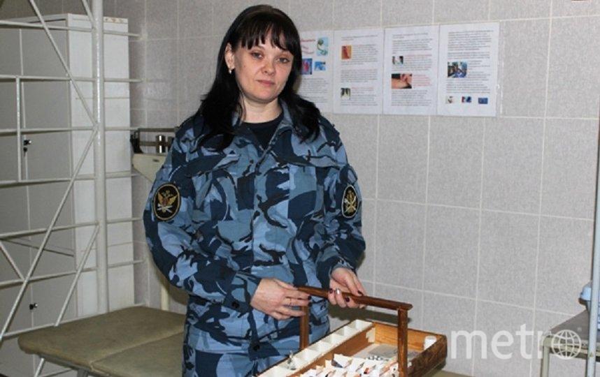 Ольга на службе. Фото пресс-служба УФСИН России по Московской области