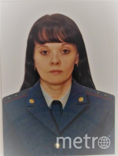Ольга в служебной форме. Фото предоставила Ольга Ратникова