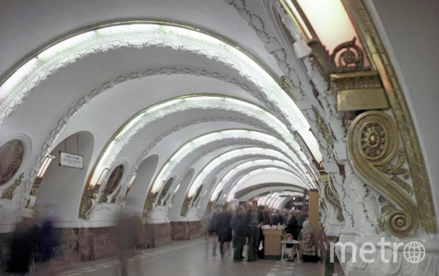 """Станция метро """"Площадь Восстания"""". Архивное фото. Фото РИА Новости"""