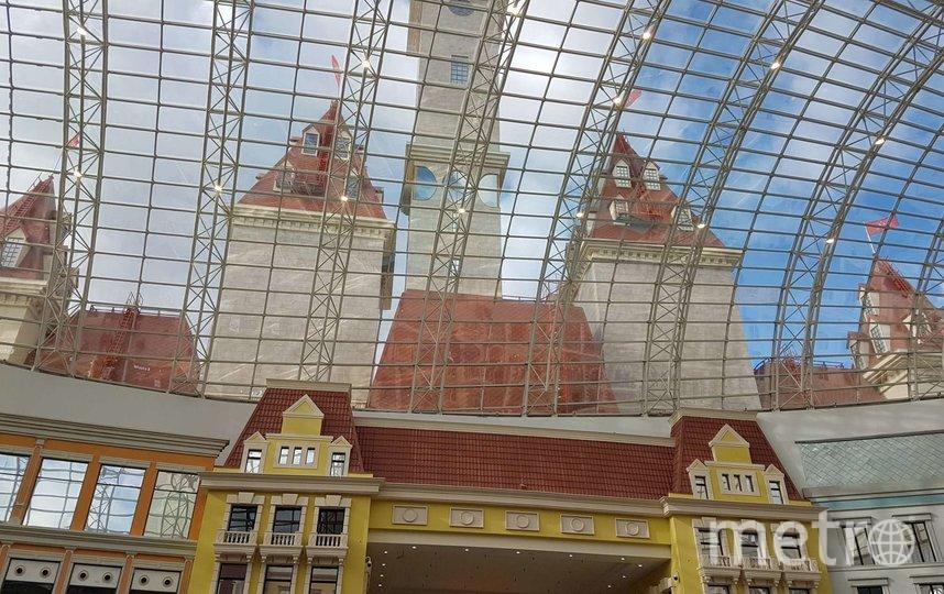 В Москве открылся первый в России тематический парк развлечений. Фото Василий Кузьмичёнок