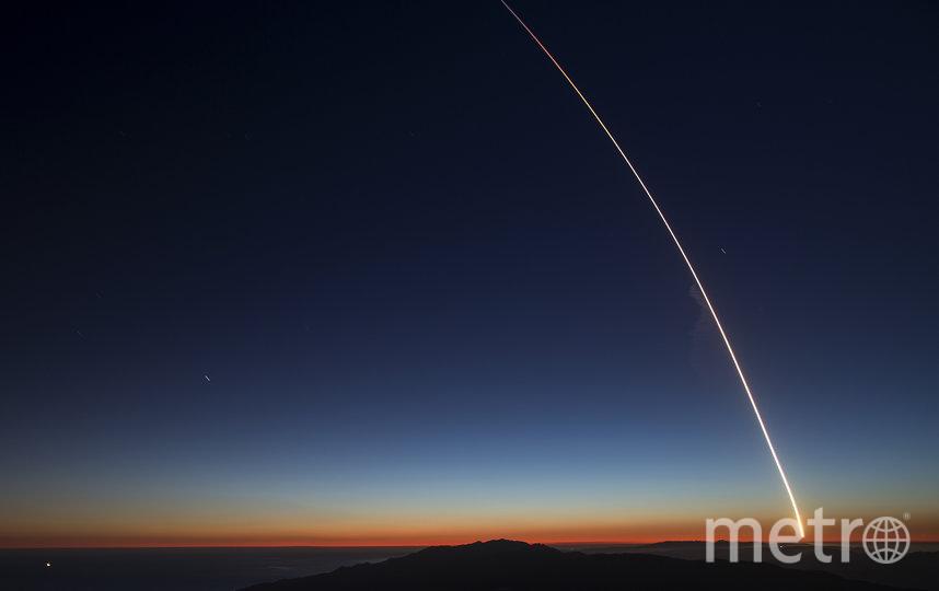 Ракета SpaceX Falcon 9 стартует с военно-воздушной базы Ванденберг со спутниками SAOCOM 1A и ITASAT 1. Фото Getty