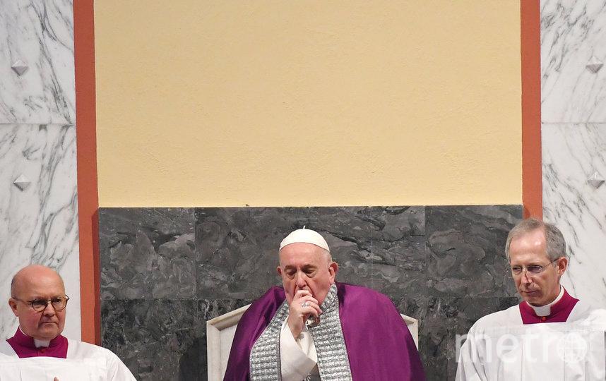 Папа Франциск. Фото AFP
