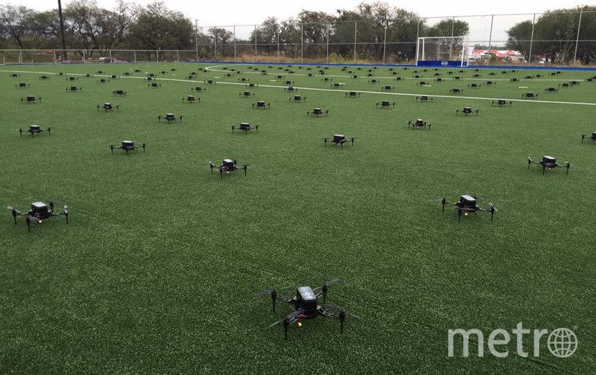 С помощью дронов можно создавать невероятные картины и устраивать представления. Фото предоставлено героем публикации | Рассел Климас