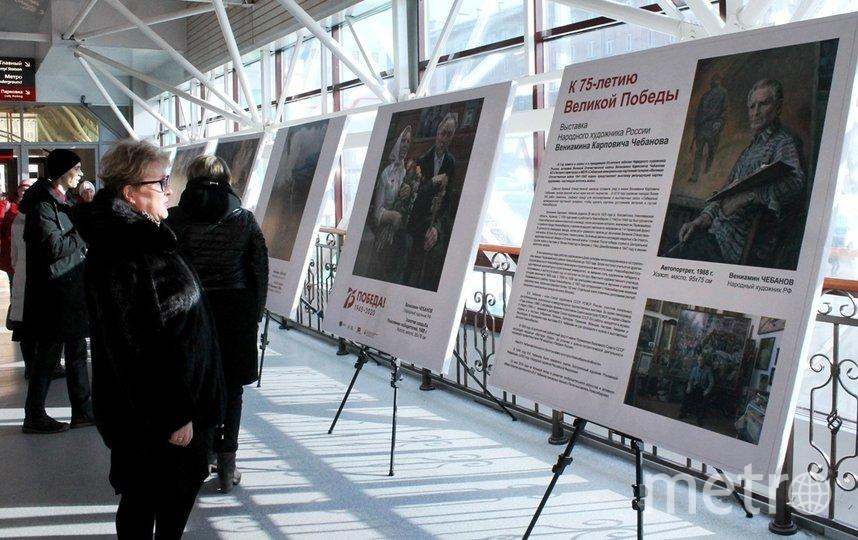 Экспозиция состоит из репродукций картин Вениамина Чебанова на сюжеты, посвященные событиям Великой Отечественной войны 1941 – 1945 годов. Фото Предоставлено организаторами