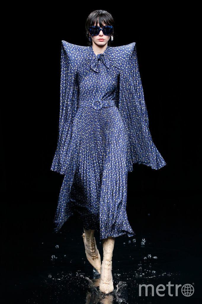 Показ  Balenciaga. Фото Getty