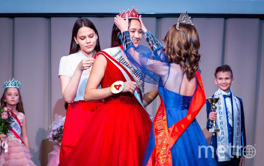 Главные титулы завоевали 13-летняя красавица Ангелина Анохина и 12-летний Илья Костин. Фото Предоставлено организаторами