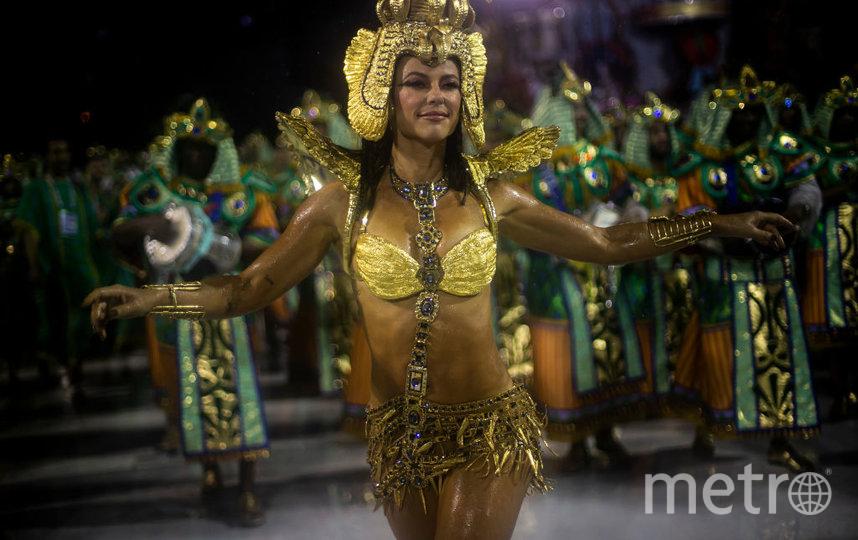 Карнавал в Рио. Фото. Фото Getty