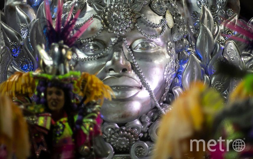 Победителем карнавала в Рио стала школа самбы 'Unidos de Viradouro'. Фото Getty