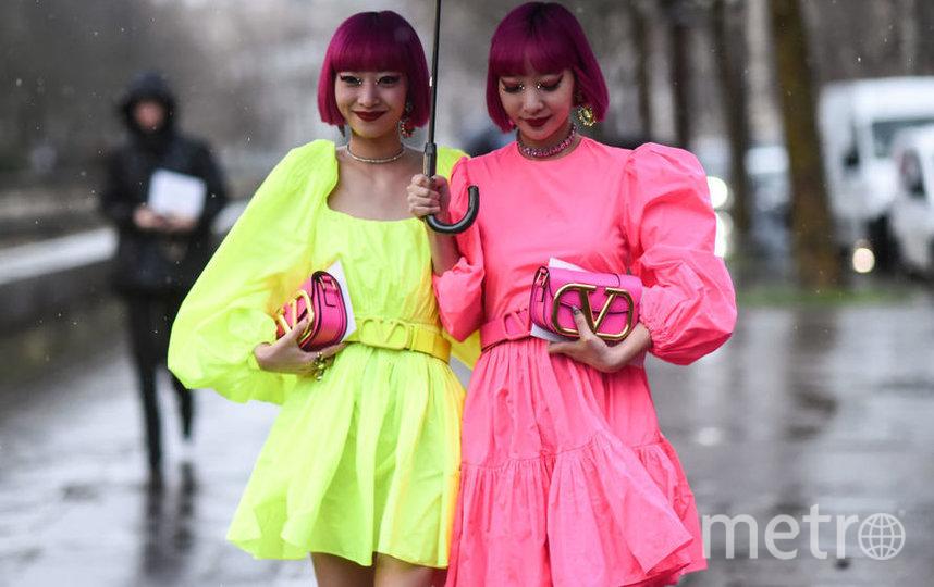 Гости Valentino: Ами и Айя Сузуки. Фото Getty