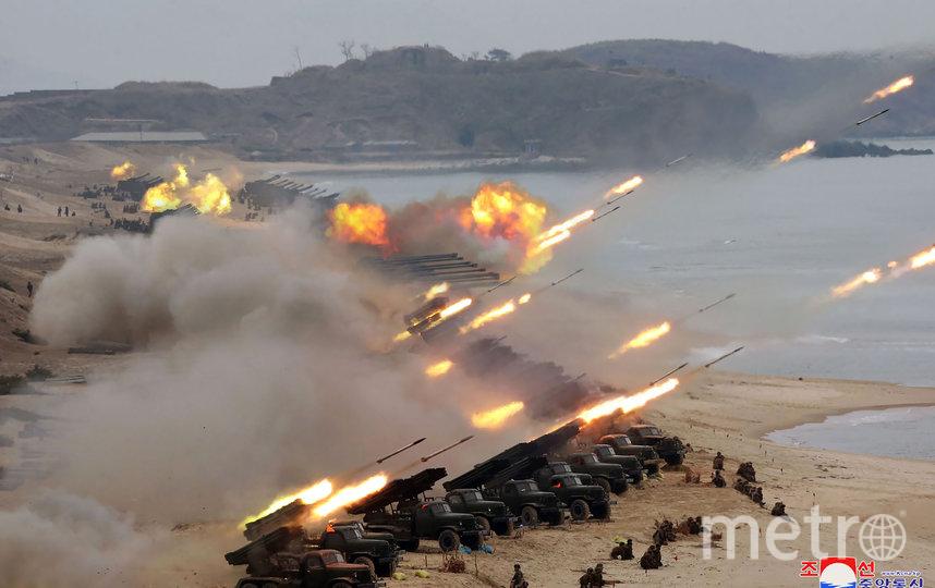 Военные учения Корейской народной армии. Архивное фото. Фото AFP