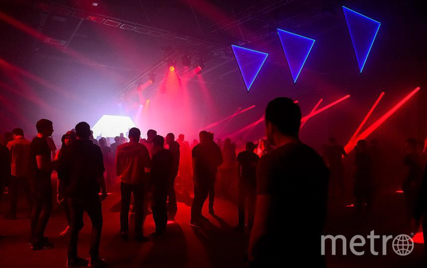 На сцене Rosa Techno был очень красивый свет. Фото предоставлено пресс-службой фестиваля Alfa Future People Snow Edition