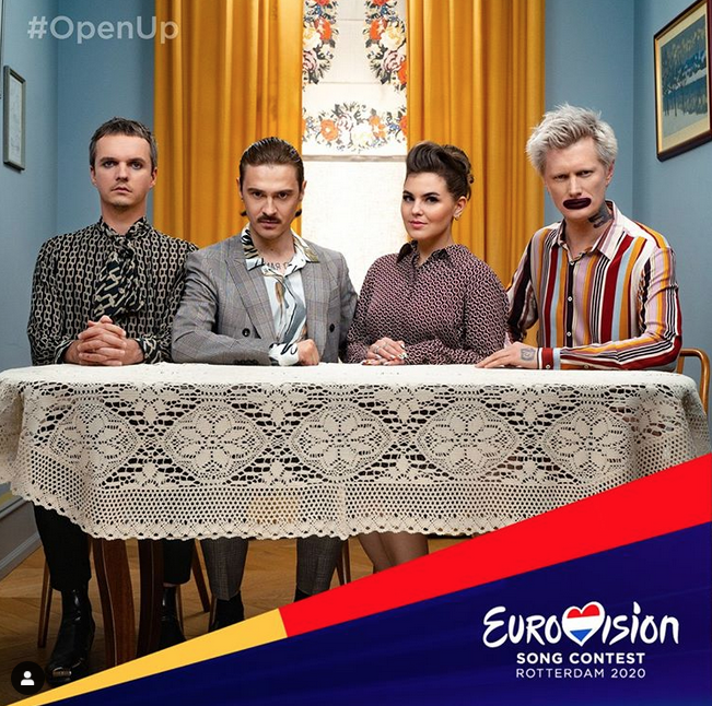 Little Big. Фото Скриншот Twitter: @eurovision