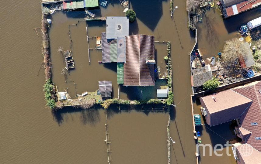 Фото из затопленного Йоркшира. 2 марта. Фото Getty