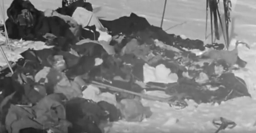 Тургруппа Дятлова. Фото Скриншот Youtube