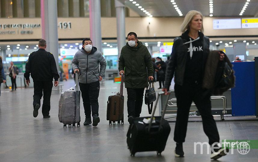 Сегодня врачи подтвердили первый случай новой коронавирусной инфекции Covid-2019. Коронавирус был выявлен у москвича, прилетевшего из Италии. Фото Василий Кузьмичёнок