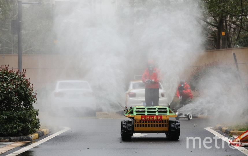 Китайский Ухань является центром эпидемии коронавируса. Фото AFP