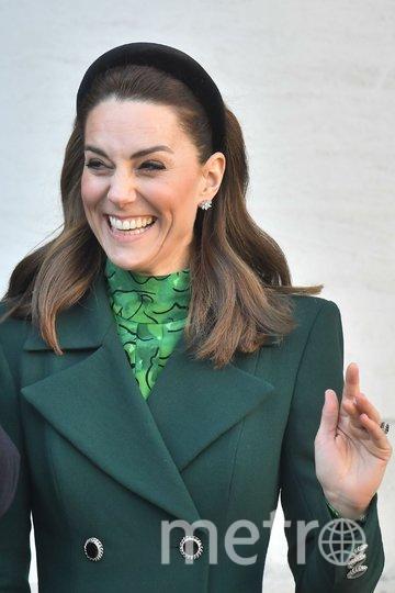 Кейт Миддлтон и принц Уильям прилетели в Ирландию. Фото Getty