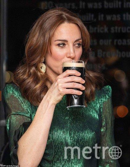 Кейт Миддлтон на приеме в музее пива в Дублине. Фото Getty