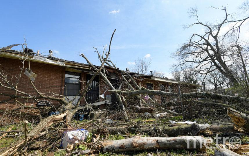Последствия жуткого торнадо в Теннесси. Фото Getty