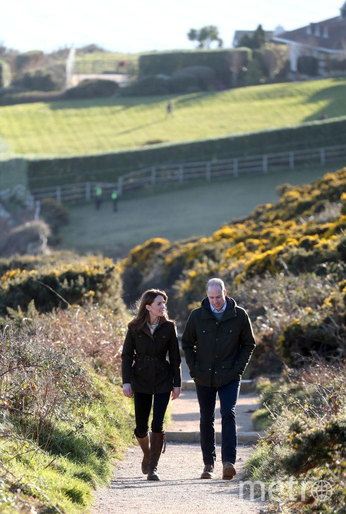Во время визита в графство Мит в Ирландии. Фото Getty