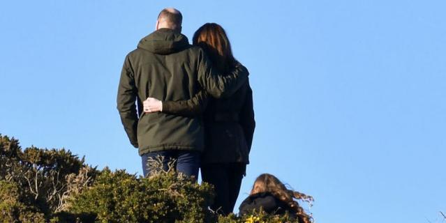 Кейт и Уильям в графстве Мит в Ирландии.