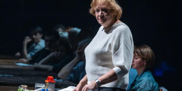 Елена Санаева рассказывает о событиях Великой Отечественной войны.