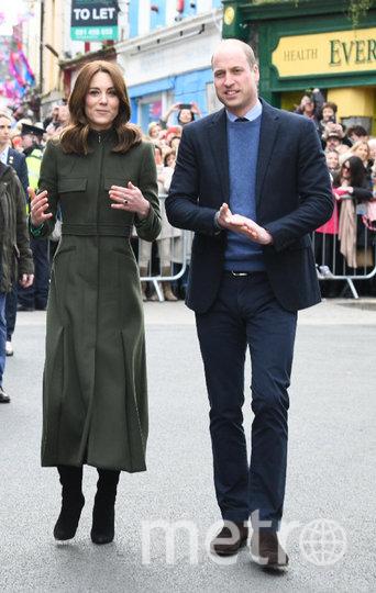 Принц Уильям и Кейт Миддлтон. Фото Getty