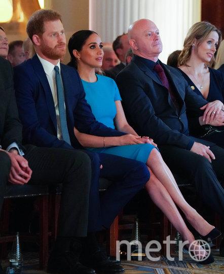 Принц Гарри и Меган Маркл на церемонии вручения премии  Endeavour Fund Awards. Фото Getty
