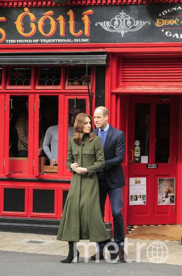 Принц Уильям и Кейт Миддлтон. Фото AFP
