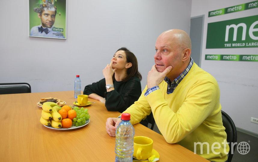 Алексей Кортнев и Галина Безрук. Фото Василий Кузьмичёнок