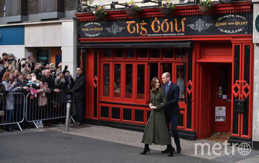 Кейт и Уильям завершили визит в Ирландию. Фото Getty
