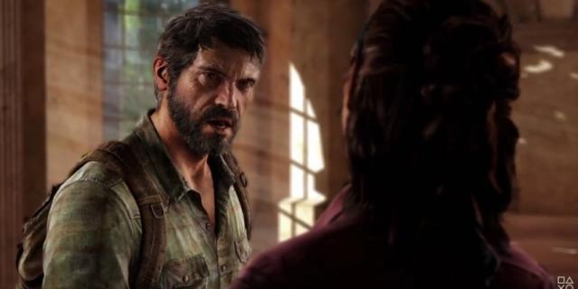 Кадр из трейлера видеоигры The Last of Us.