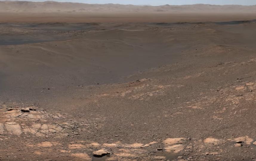 Кадры видео. Панорама, сделанная Curiosity. Фото Скриншот Youtube